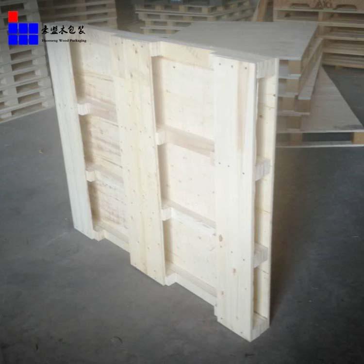流亭工业园 厂家销售一次性木盘出口免熏蒸四面进叉