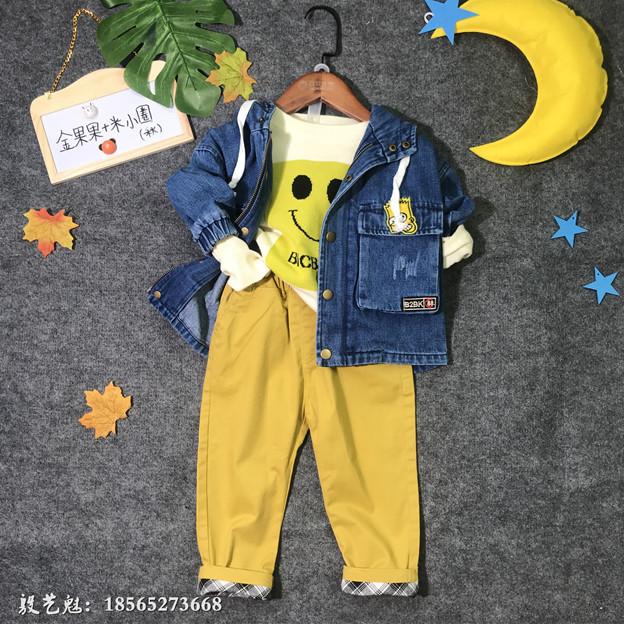 虹猫蓝兔童装一手货源处理儿童冬季羽绒棉服