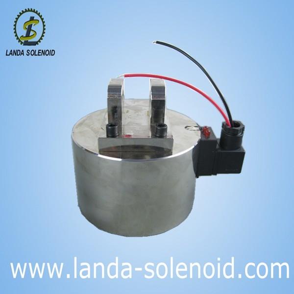 厂家供应直流型号12080非标定制电磁铁 圆形吸盘式