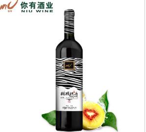 杨凌你有酒业 优质猕猴桃酒 半甜型 果酒 瓶...