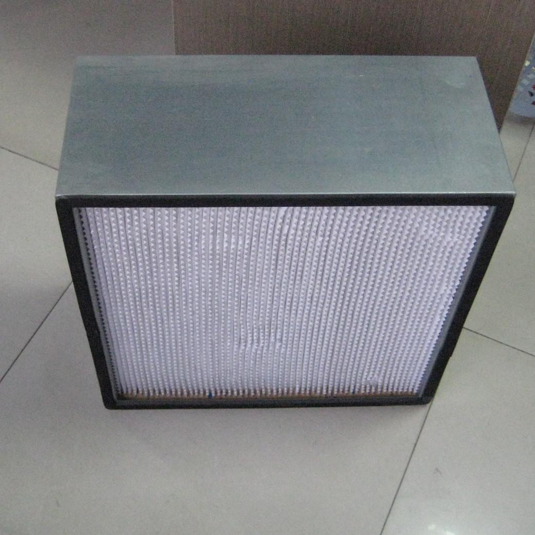 铝隔板纸隔板隔板高效过滤器H13大风量阻力小