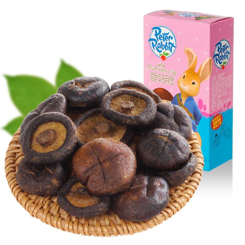 花纖菇香菇脆低溫脆化  兒童零食孕婦零食蔬果脆香菇蔬菜干