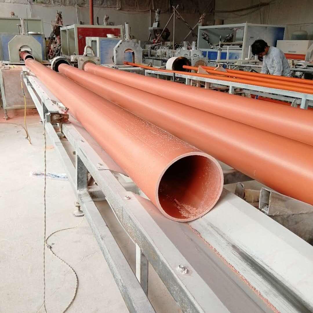湖南永州CPVC埋地穿线管 pvc电力管 电缆管厂家直销