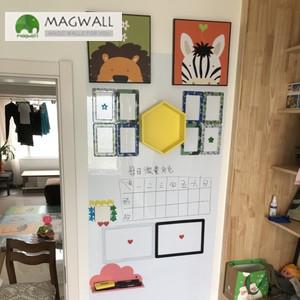 供应磁善家居家擦写不留痕PET膜磁性白板墙贴