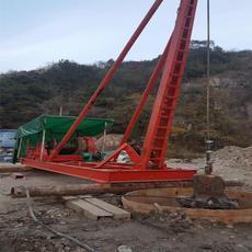 南通手拉锤钻桩机技术参数 冲击钻机型号规格