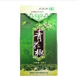 供应 四川特产环太金阳青花椒80g 麻椒清香藤椒盒装四川花椒