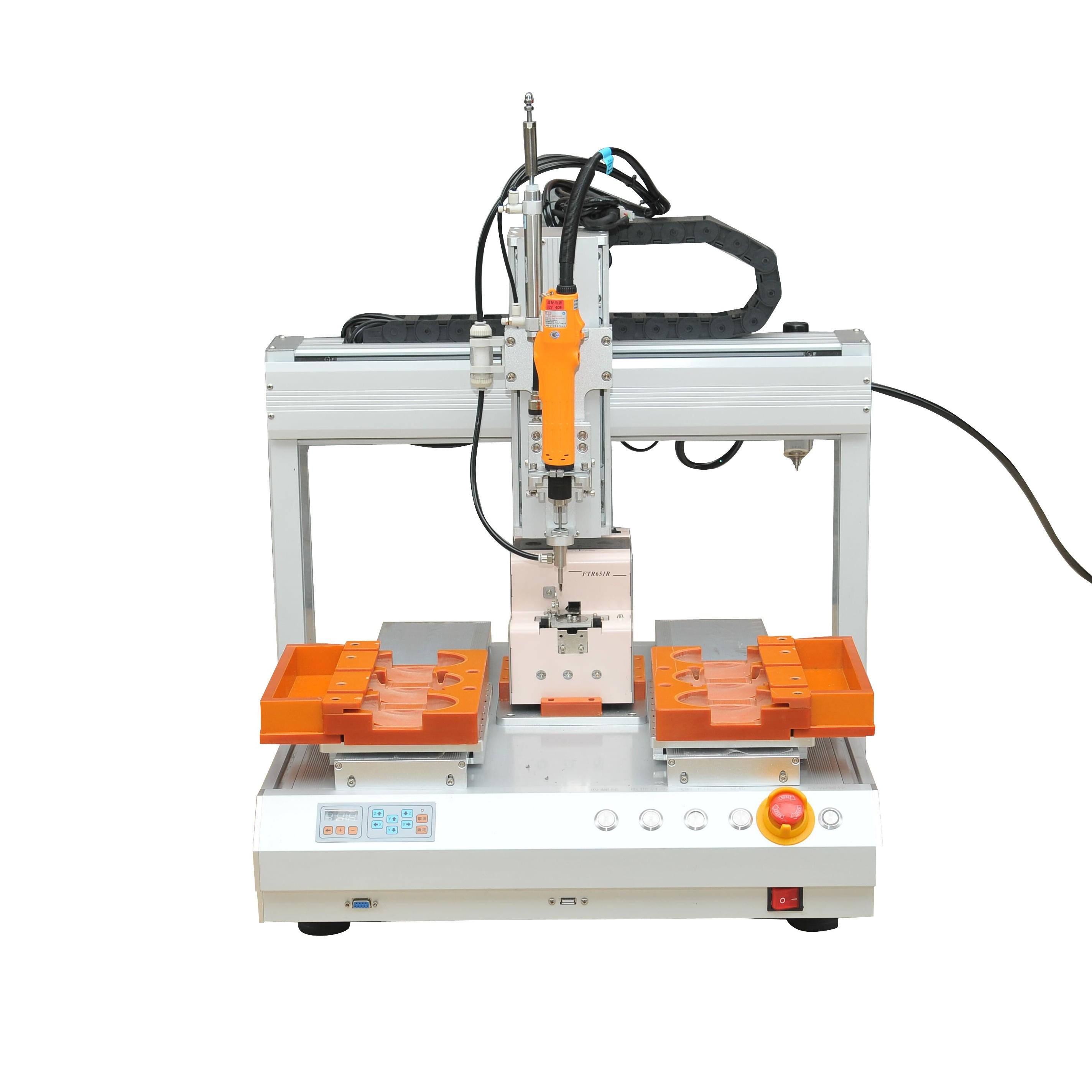 廣東地區直銷 全自動擰螺絲機4331電腦裝配鎖螺絲機全自動擰螺絲機