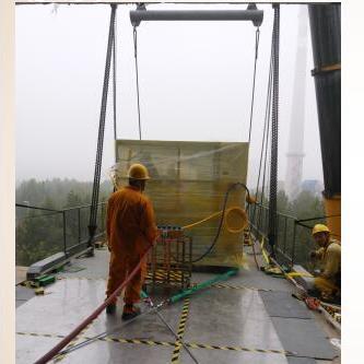 成都无尘室内设备搬运 无尘室气垫搬运安装 成都大型搬运公司
