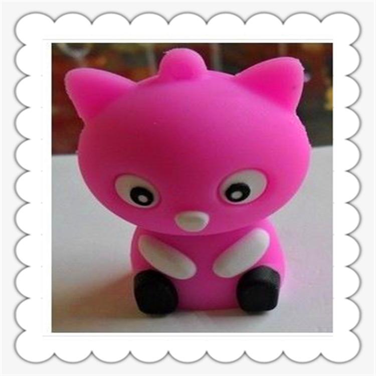 专业加工定制姚氏搪胶立体卡通公仔3D汽车玩具摆件硅胶娃娃饰品