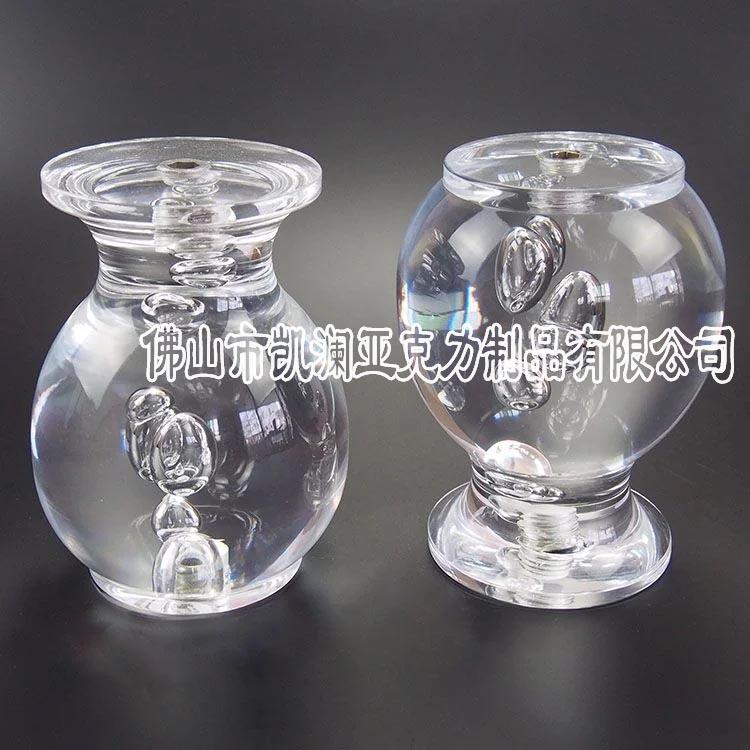 厂家直销亚克力时尚美观水晶工艺品 有机玻璃气泡圆形工艺品