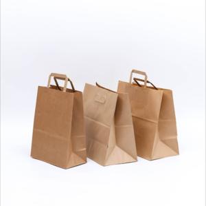 供应 环保外卖打包盒 可定制LOGO 一次性牛皮纸便当盒 炸鸡食品包装盒