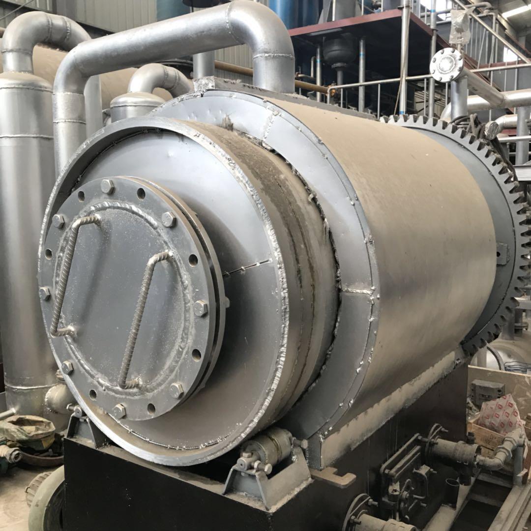 商丘四海LJ-9废轮胎废塑料废橡胶裂解炼油设备