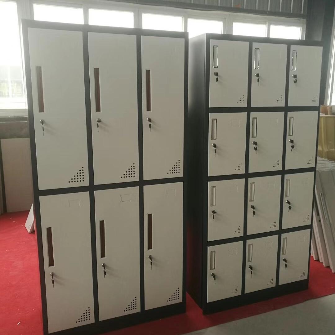 重慶更衣柜 鐵皮柜 員工寢室鐵柜 工人宿舍更衣柜 生產廠家