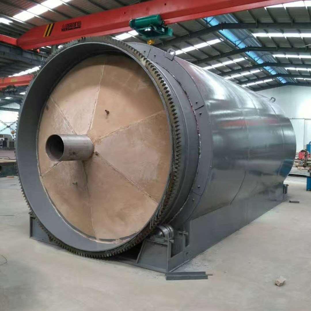 四海能源热销款日处理12吨汽车轮胎热化炼油设备