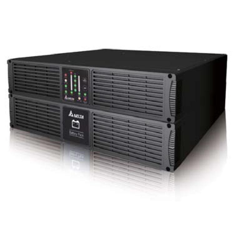台达R2K UPS电源 2000VA 1400W 在线式机架式 UPS不间断电源长机