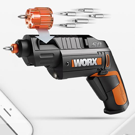 供应 电螺丝刀WX254 充电电批自动起子锂电小型电动工具套装