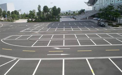 停车位划线施工 停车位划线 路美师交通(在线咨询)