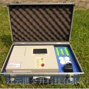 正品智能彩色触摸屏土壤养分温湿度检测仪TRF-4B