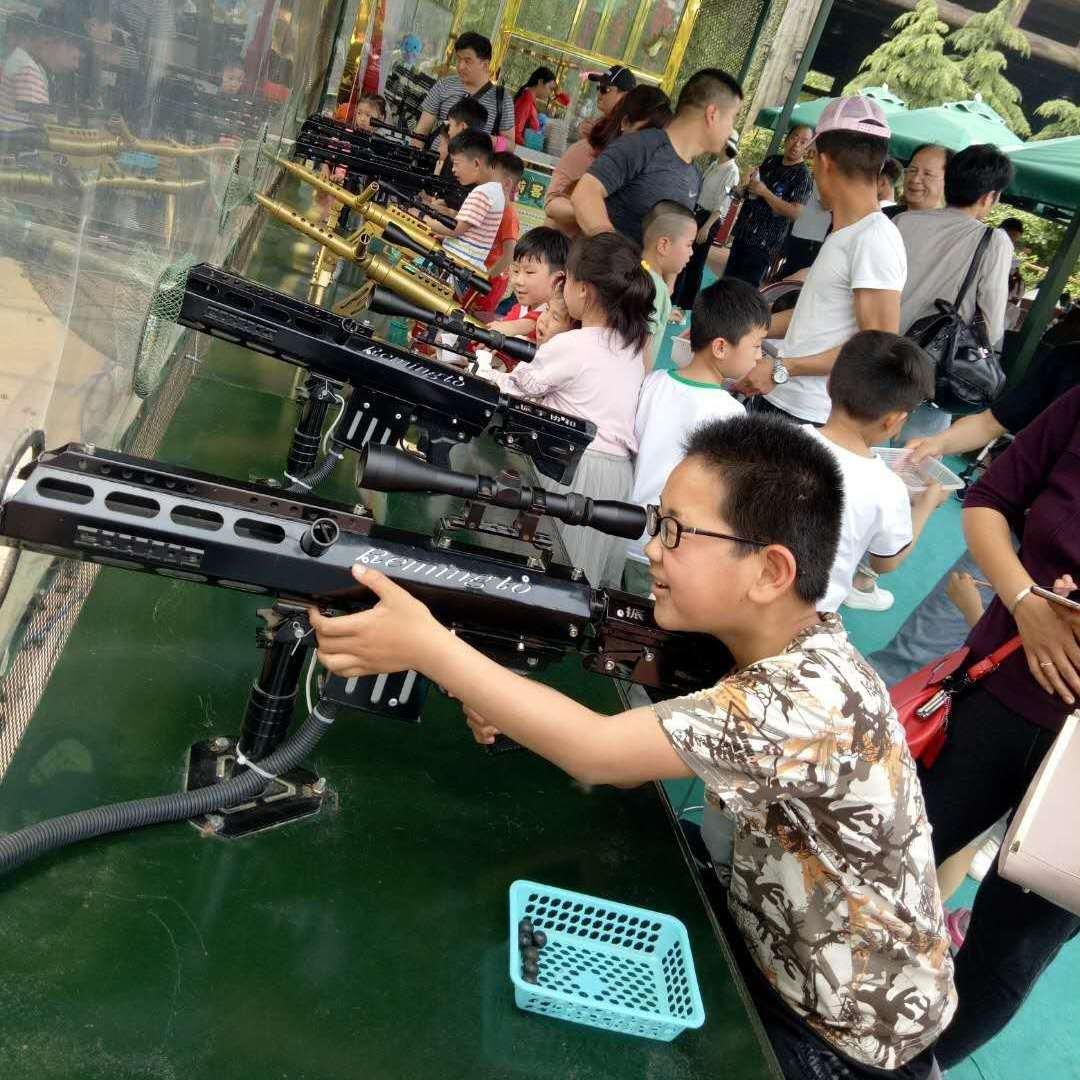 庙会专用汽炮-游乐场娱乐汽炮-景区打靶设备