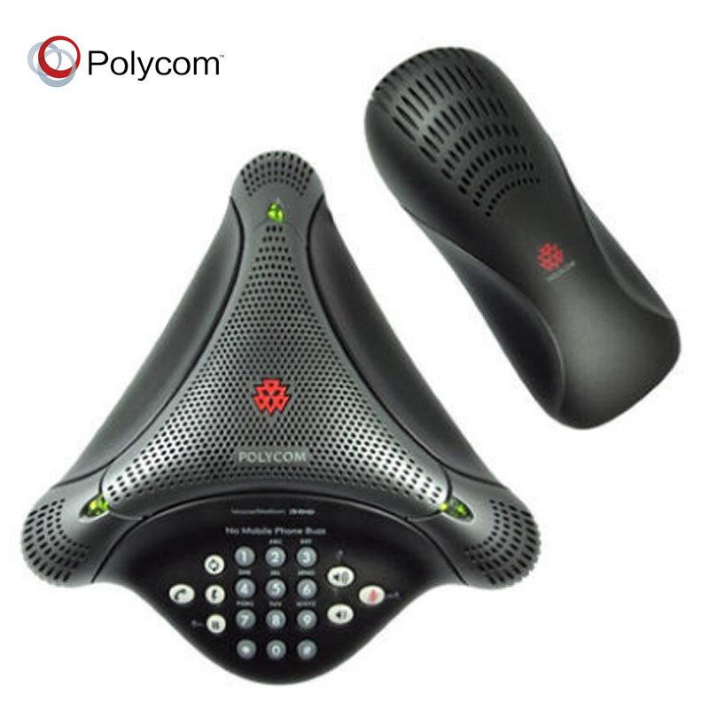 宝利通 POLYCOM VoiceStation300 小型会议室多方通话会议电话机