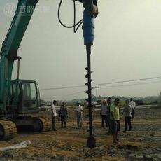 销售4.5T-8T挖掘机用的高品质螺旋钻旋挖钻