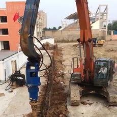 挖掘机配用螺旋桩机电线杆挖坑机BZ20000螺旋钻机