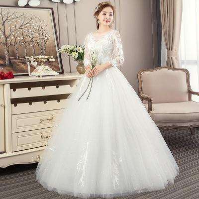 供应 公主梦幻新娘结婚齐地大码显瘦