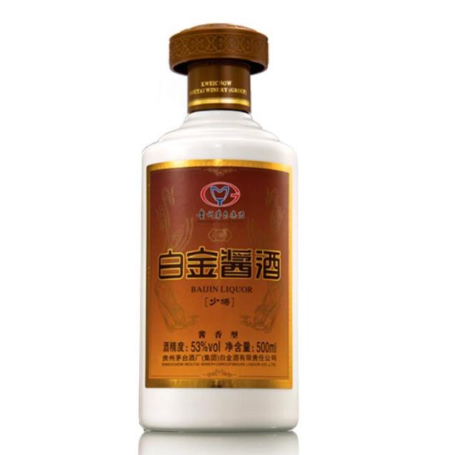 供应 贵州茅台集团白金酒公司酱香型白酒少将