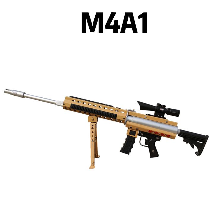 小型庙会专用气炮枪-景区打靶设备-模拟射击场设备-M4A1