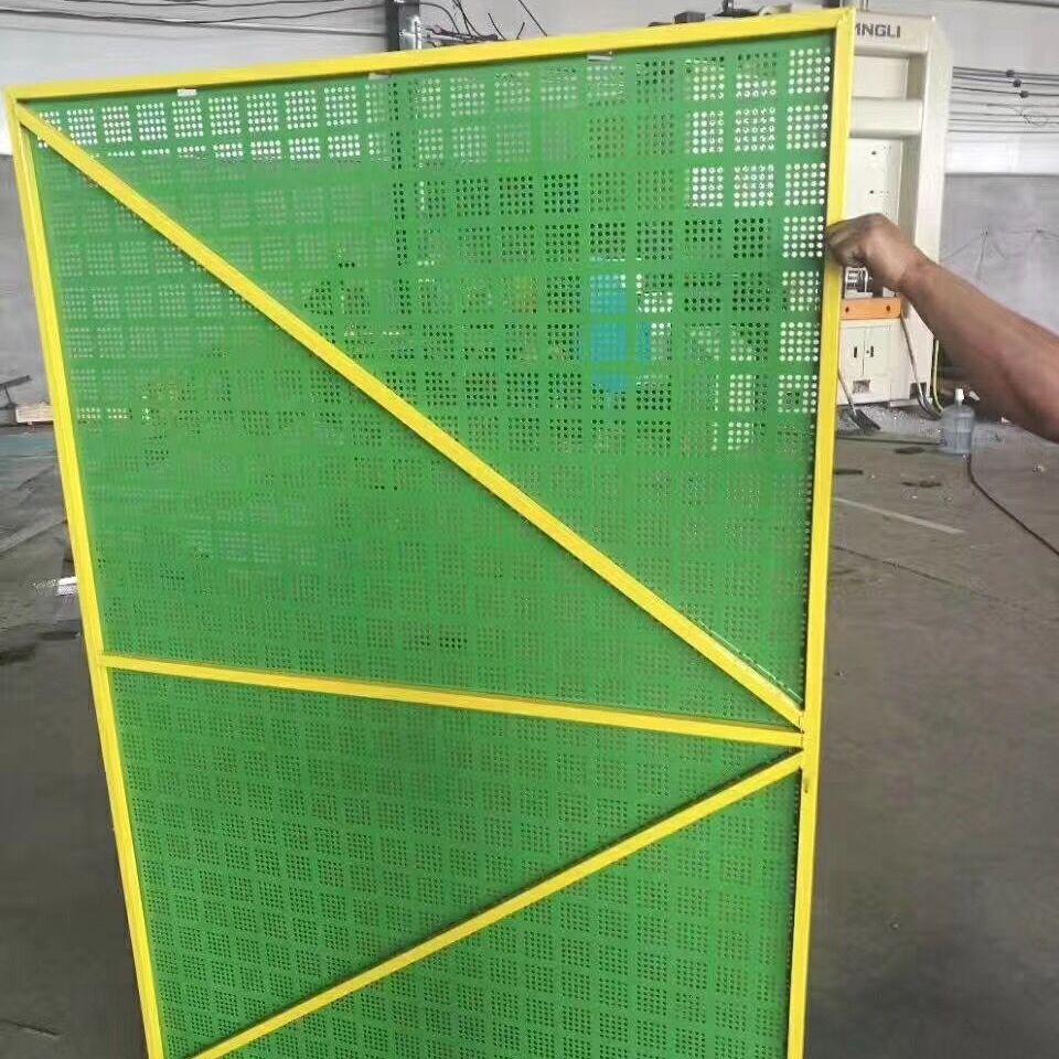 安平县美世金属生产的6孔4距爬架网片 结实耐用 价格实惠