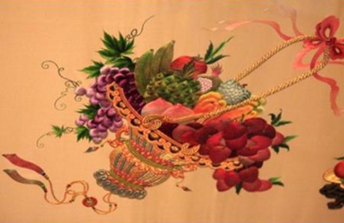 刺绣艺术展