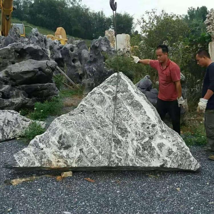 铭富园林石材公司这里批发泰山石泰山石切片景观石假山石更便宜