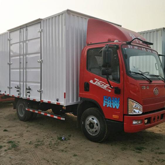 一汽解放J6F4.2米箱式货车