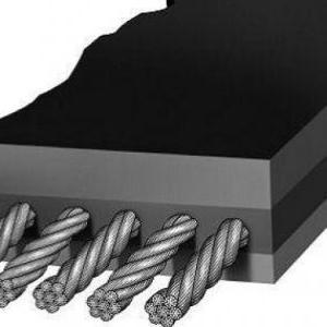 供应质量好的钢丝绳胶带     钢丝绳输送带