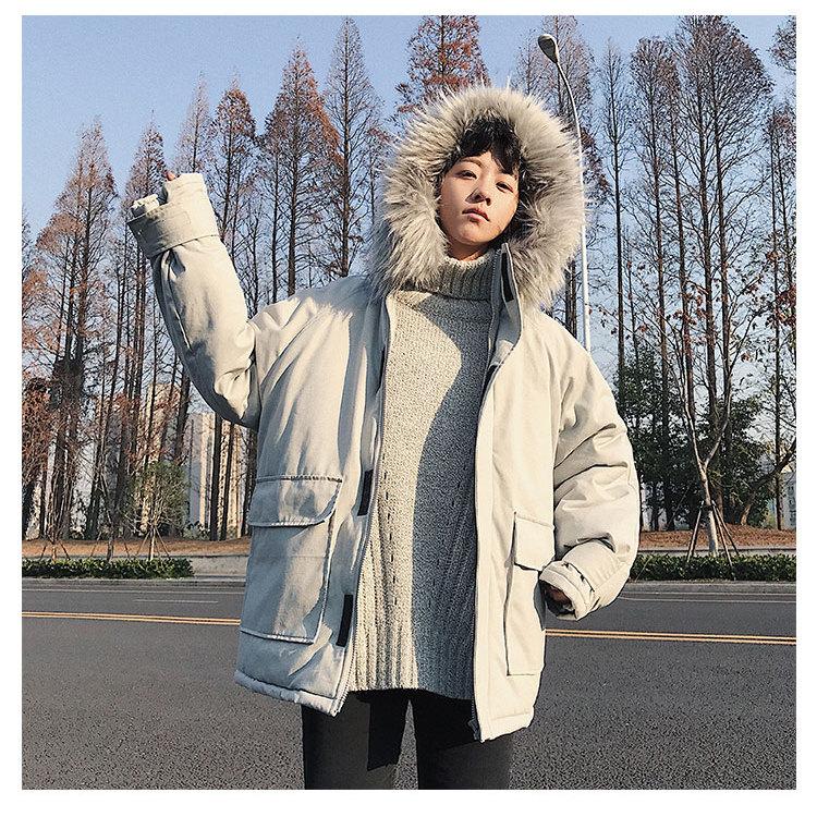 美丽啪2018新款毛领棉衣外套免费试用