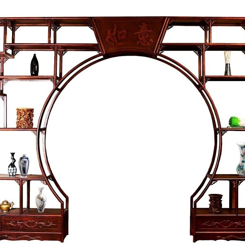 博古架厂家_现代风格博古架设计图片及价格_博古架摆放方法