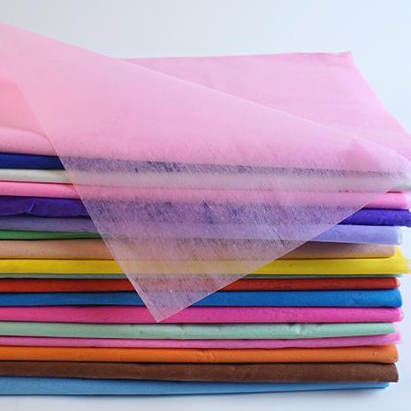 彩色棉纸 工艺品 礼品包装纸 薄棉纸 厂价批发