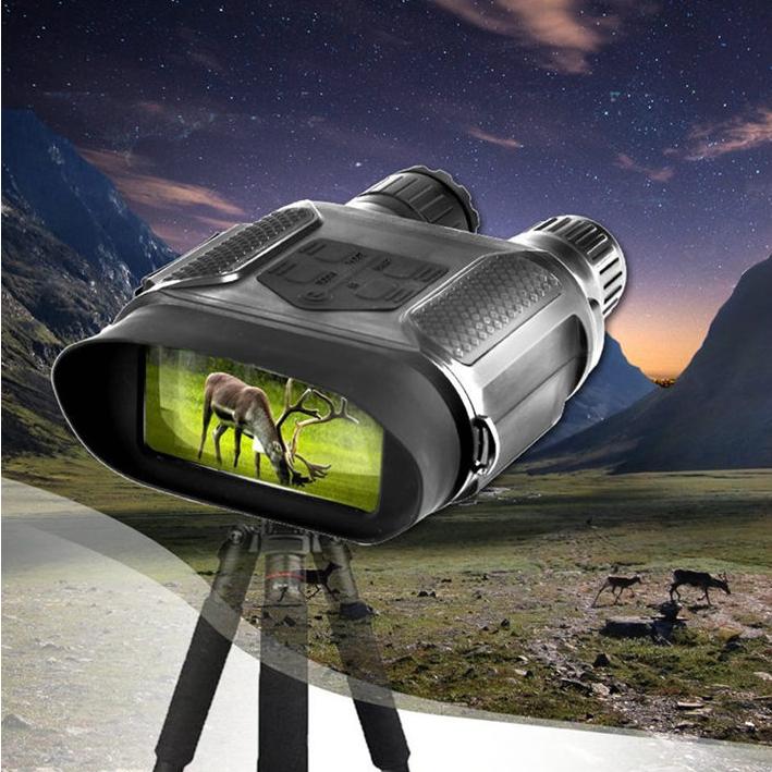 数码夜视仪 高清大屏幕可全黑拍摄录像带红外线