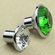 供应 厂家直销 k9单孔**水晶包钻拉手 橱柜 抽屉 透明钻石把手