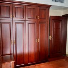 长沙欧式实木家具优惠活动-实木酒柜-博古架定做木蜡油好