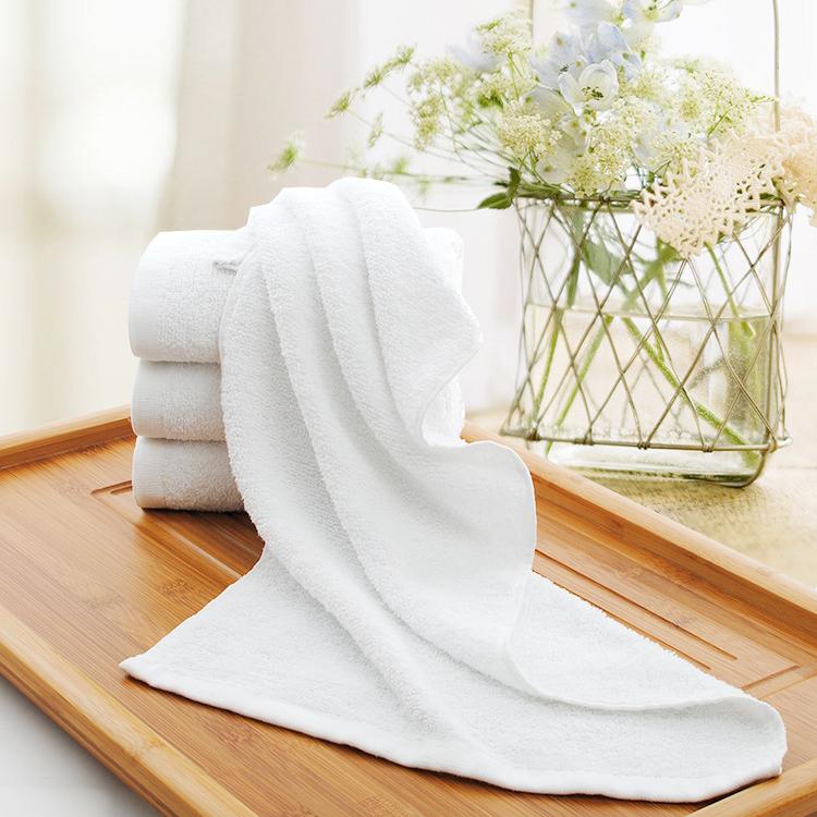 酒店賓館一次性毛巾純白毛巾純棉毛巾
