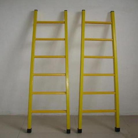定制3米玻璃方管绝缘攀爬梯 绝缘单直梯 5米单梯全绝缘电工梯