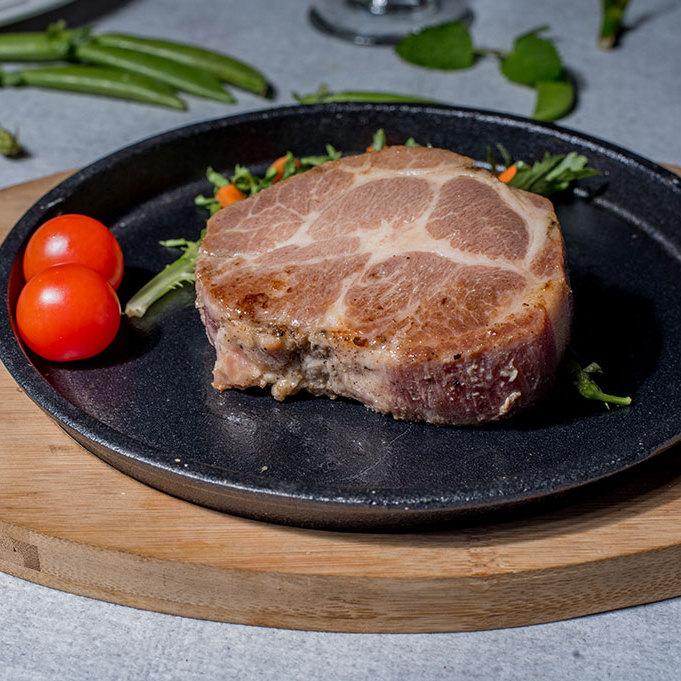 尚好菜  冷冻 猪肉 方便加工 雪花猪扒 餐饮行业适用