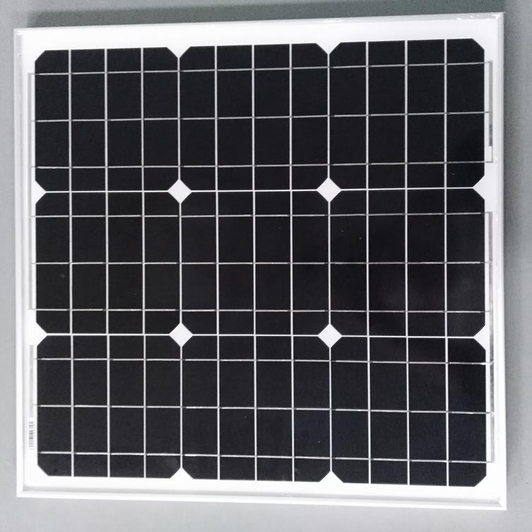 深圳厂家生产单晶40W太阳能板  质量保证