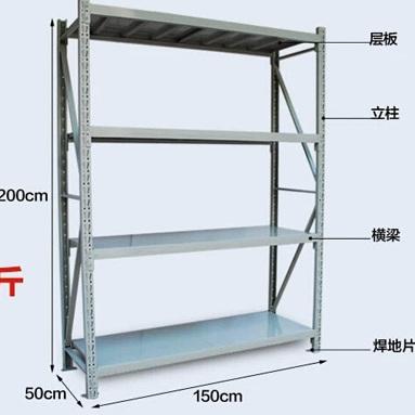 重庆仓储货架价格超市货架定制置物架货架厂家
