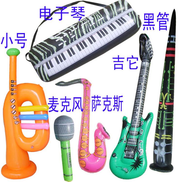 PVC充气玩具儿童仿真活动用品仿真舞台道具派对品广告LOGO促销礼品批发定制