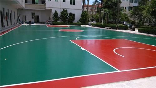 恩平球场地面工程,球场地面,永旺体育丙烯酸球场地面