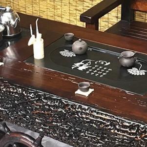 古船木家具海螺龍骨茶臺客廳茶幾陽臺戶外泡茶桌