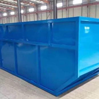 配合摆臂式垃圾车传统的环卫车辆 摆臂式垃圾箱