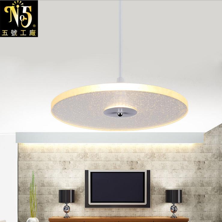 供应 智能调光 简约时尚水晶家居艺术汽泡吊灯 双色LED创意灯饰